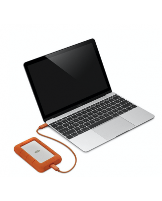 Disco Duro Externo Windows Mac 1TB USB-C Rugged Lacie
