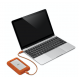 Disco Duro Externo Windows Mac 2TB USB/USB-C 130MBs Rugged Lacie Mini