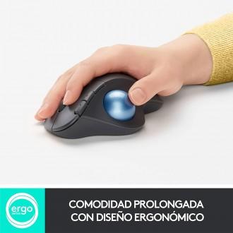 Mouse Ergonometrico TrackBall Ergo M575 Logitech Wireless