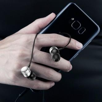 Audífonos Manos Libres iPhone Android Encok H04 Negro Baseus