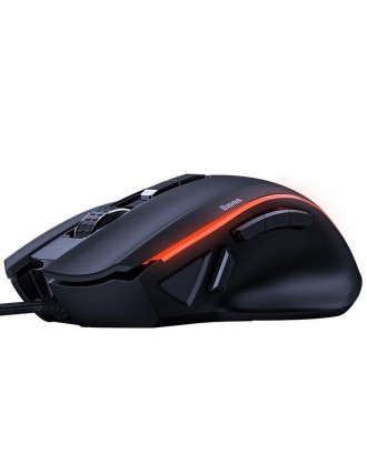 Mouse Gamer 9 Botones Programables Gamo 6400dpi Baseus
