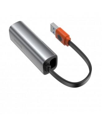 Adaptador LAN USB y USB-C Gigabit RJ45 Baseus Steel Series