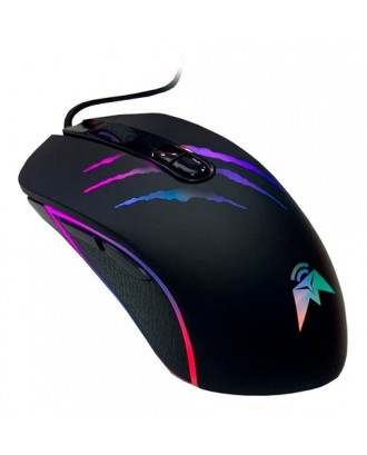 Mouse Gamer RGB 3200DPI Predator USB Tecmaster