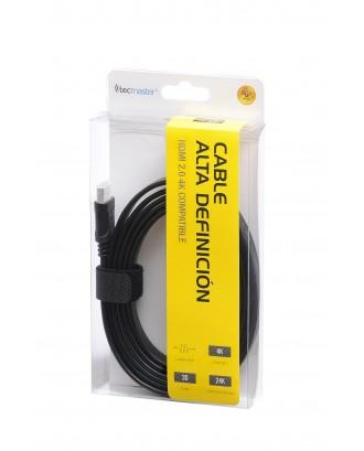 Cable HDMI Alta Definición 1,8MT Tecmaster