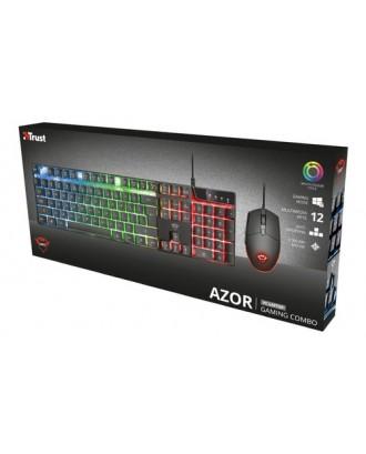 Kit Gamer GXT838 Azor Teclado Mouse RGB Español Trust