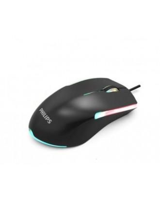 Kit Teclado y Mouse Gamer RGB Philips G264 Momentum