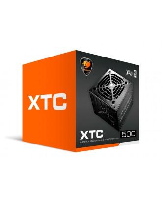 Fuente de Poder 500W Cougar XTC500 80 PLUS Certificada