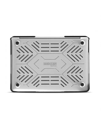 Carcasa Macbook Air 13/ 13.3 A1932 A2179 A2337 M1 Máxima Protección Transparente Hexpact