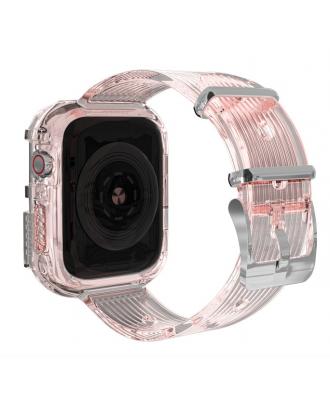 Correa Para Applewatch Silicona Vintage A 38mm / 40mm Rosada