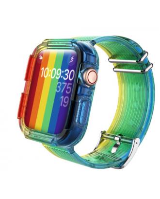 Correa Para Applewatch Silicona Vintage A 38mm / 40mm Multicolor