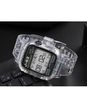 Correa Para Applewatch Silicona 38mm / 40mm Vintage C Transparente