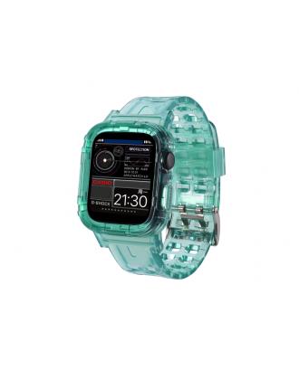 Correa Para Applewatch Silicona 38mm / 40mm Vintage C Verde
