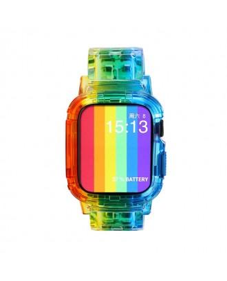 Correa Para Applewatch Silicona 38mm / 40mm Vintage C Multicolor