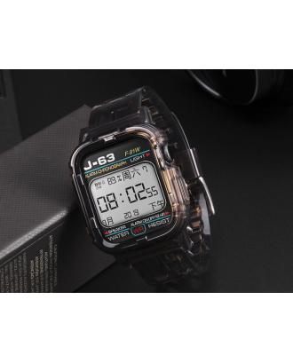 Correa Para Applewatch Silicona 42mm / 44mm Vintage C Negra