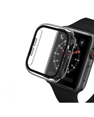 Protector Pantalla Vidrio Para Applewatch 40mm Transparente