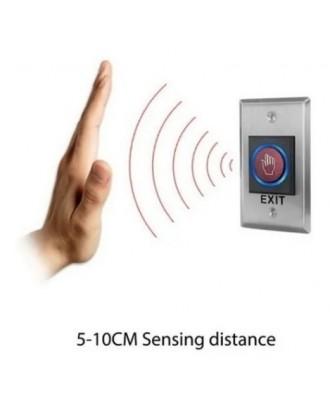 Pulsador Botón No Touch Salida Control Puerta Acceso ZKteco