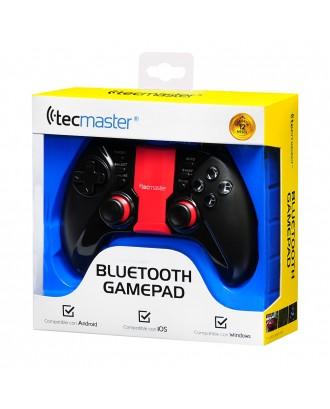 Control Joystick Gamepad Bluetooth Celular Iluminado Android PC Rojo