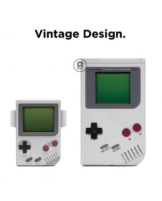 Soporte Dock Para Applewatch Silicona Diseño Gameboy Blanco