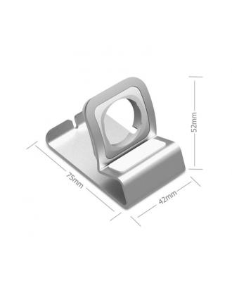 Soporte Dock Para Applewatch Aluminio Portátil Premium Space Gray