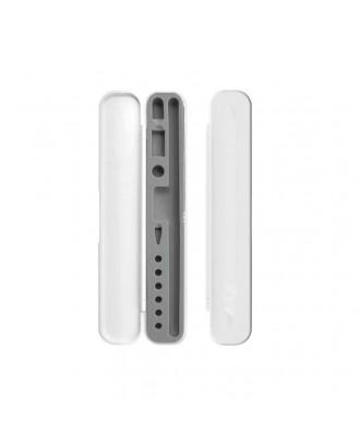 Estuche Protector Para Apple Pencil y Accesorios Blanco Gris
