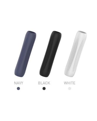 Set Grips Agarre Para Apple Pencil 1 Blanco Azul Negro