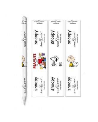 Set 3 Adhesivos Protectores Applepencil 2 Diseño Snoopy