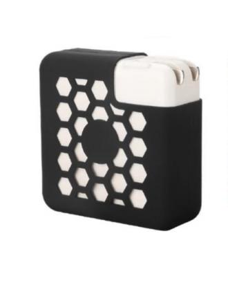 Funda Protector Silicona Cargador MacBook Pro 13 60-61W Negro