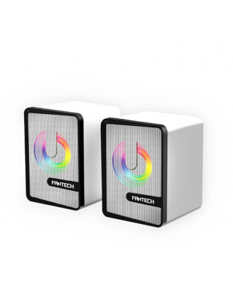 Parlantes Gamer Fantech Beat GS203 LED RGB Space Edition