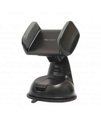 Soporte Auto Smaprthone Ventosa 360 Grados Tecmaster