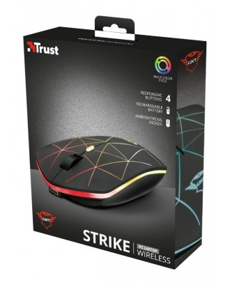 Mouse Inalambrico Gamer Trust GXT 117 Strike