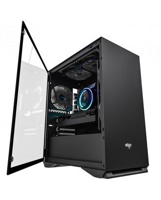 Gabinete Gamer Micro ATX -ITX Aigo Yogo M2 Aigo Negro