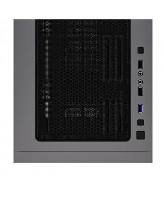 Gabinete Gamer ATX Micro ATX -ITX Aigo Yogo K1 Grafito