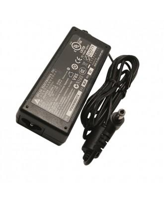 Cargador Acer Toshiba Asus 19v 3.42 (punta negra)