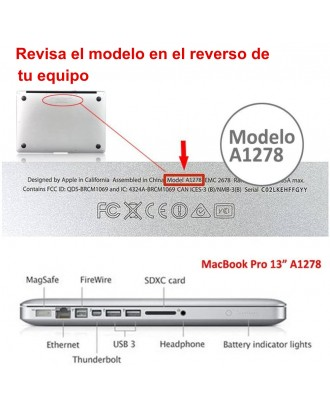 Carcasa Macbook Pro 13.3 Oil 66