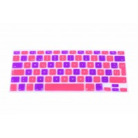 Protector Teclado Macbook Pro-Air-Retina 13 Bicolor