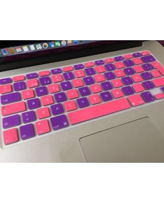 Protector Teclado Macbook Pro-Air-Retina 13 Bicolor