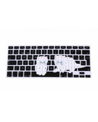 Protector Teclado Macbook Pro-Air-Retina 13 Gatos