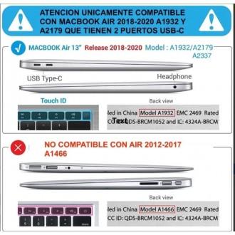 Carcasa Macbook Air 13 (2018-2020)  A1932 - A2179 Summer