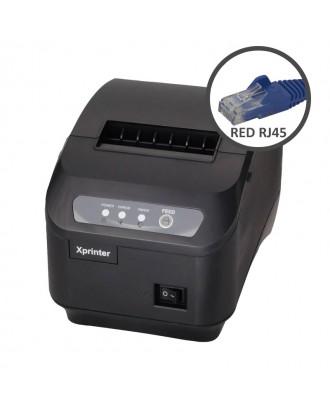 Impresora Térmica LAN RJ45 Pos 80mm Facturas Boletas Electrónicas XP-Q200II
